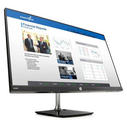 圖片 HP N240h 23.8吋 IPS可升降電腦螢幕