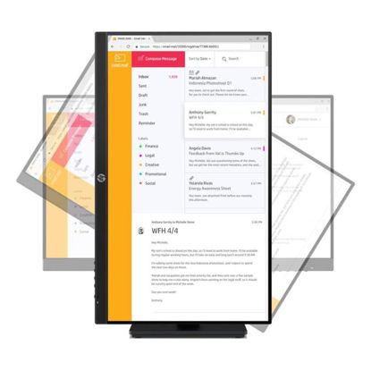 圖片 HP P24h G4 23.8吋 IPS 可旋轉電腦螢幕