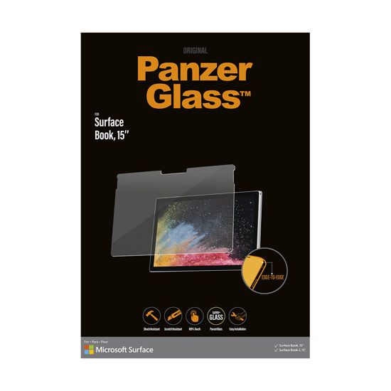 Picture of 北歐嚴選品牌Panzer Glass Surface Book 專用通透玻璃保護貼 送多功能工具筆
