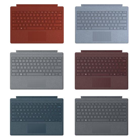 """圖片 """"獨家舊換新""""Microsoft Surface Pro Alcantara 鍵盤七色可選 (黑色非Alcantara)"""