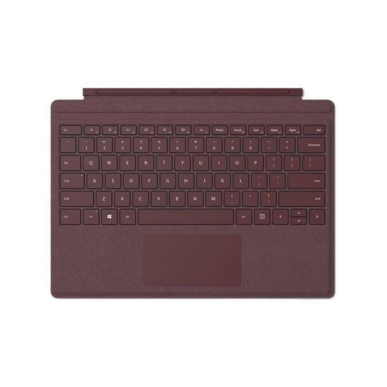"""圖片 """"拆封新品""""Microsoft Surface Pro Alcantara 鍵盤 酒紅色"""